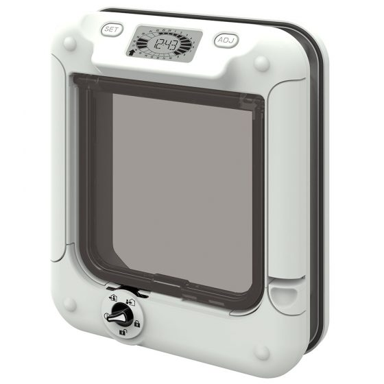 Cat Mate Cat Flap Timer Control Cat Flap (359W)