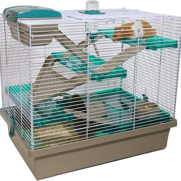 Pico XL Translucent Teal Hamster Small Animal Cage