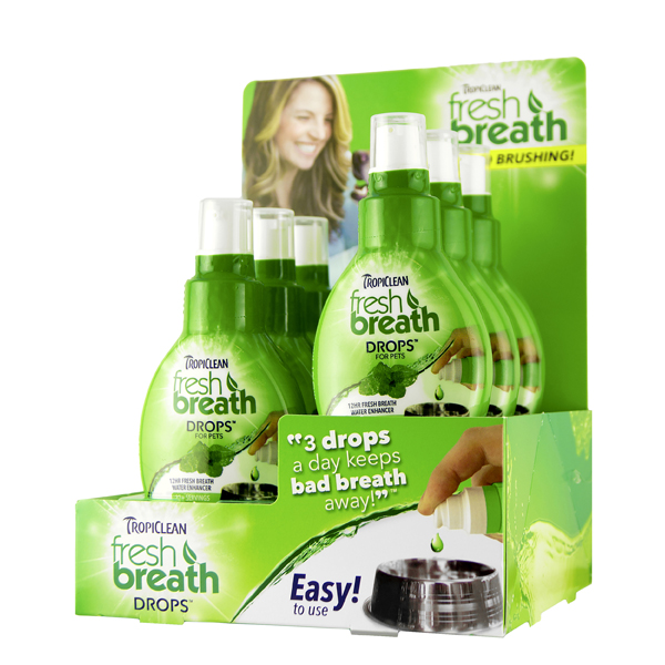 Tropiclean Dental Fresh Breath Drops 52ml