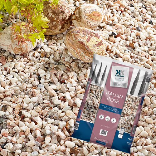 Kelkay Italian Rose 16-32mm White Gravel Large Pack