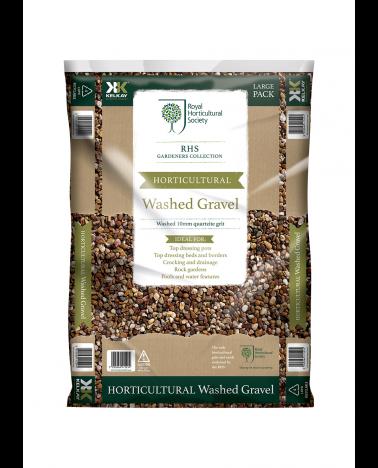 Kelkay RHS Horticultural Washed 10mm Quartzite Gravel Large Pack