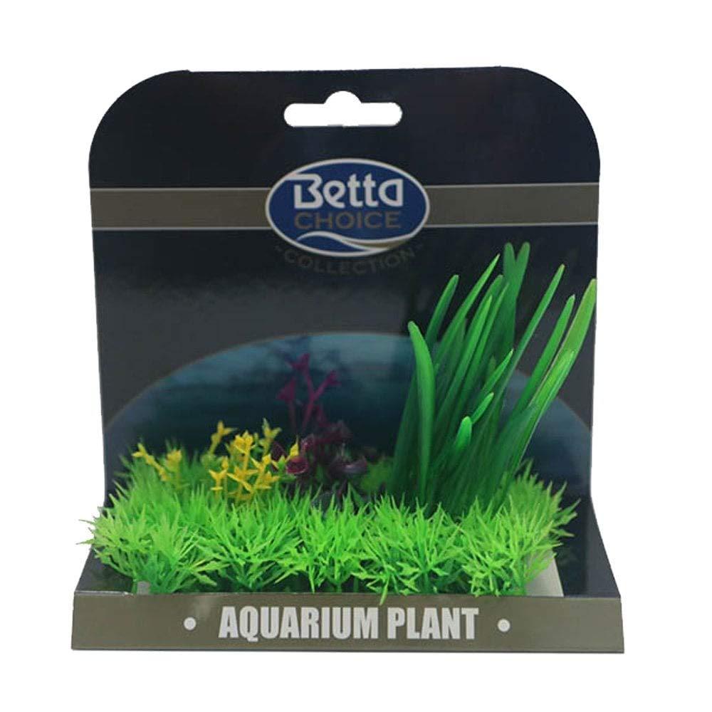 Betta Choice Med Plant Mat - Green & Purple