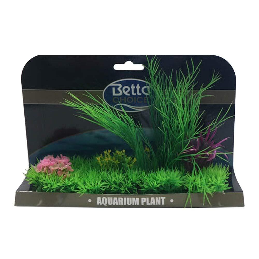 Betta Choice XL Plant Mat - Purple & Green