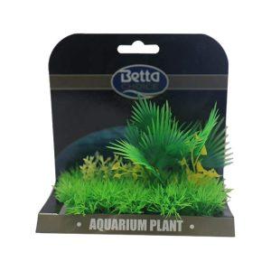 Betta Choice Med Plant Mat - Green & Yellow