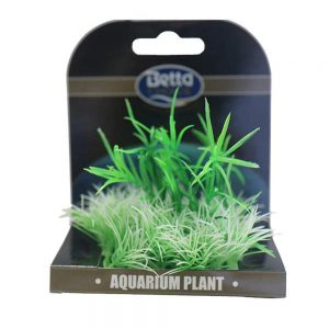 Betta Choice Mini Plant Mat - Green & White