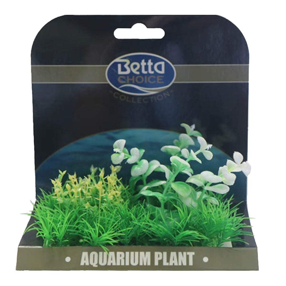 Betta Choice Med Plant Mat - Green & White
