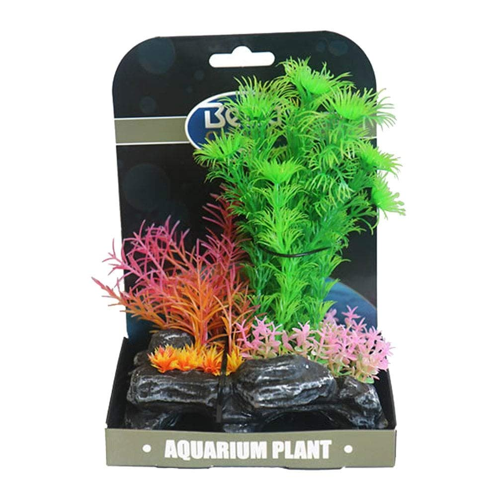 Betta Choice Mini Air Gardens - Green & Pink