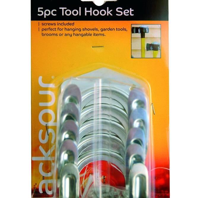 Blackspur 5pc Tool Hook Set (HA101)