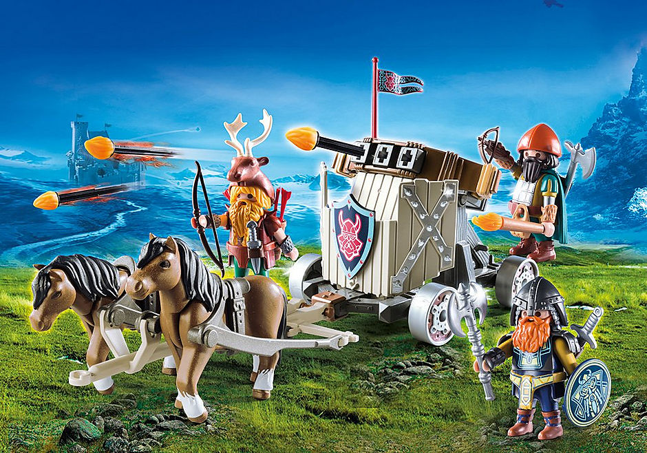 Playmobil 9341 Knights Horse-Drawn Ballista