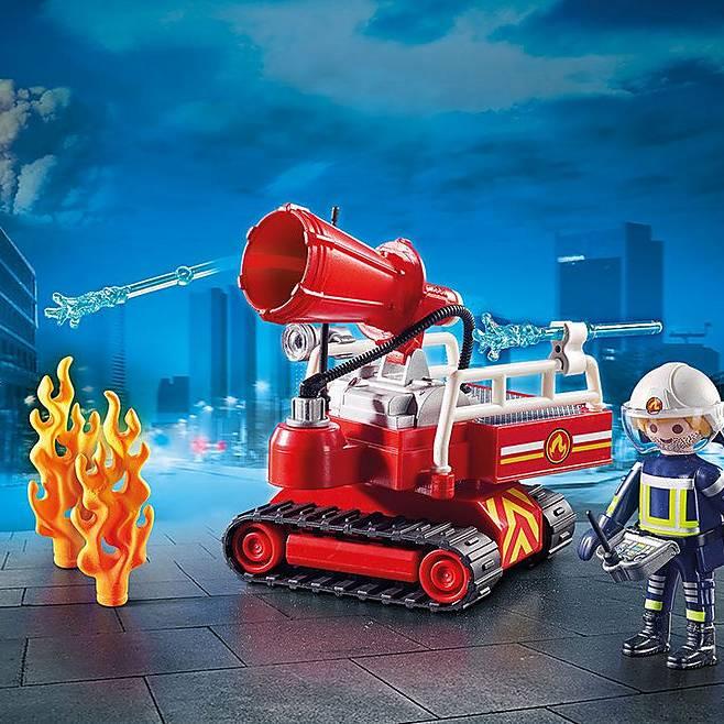 PLAYMOBIL 9467 CITY ACTION FIRE CANNONE ACQUA