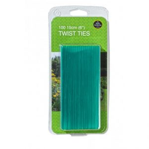 "Garland 15cm (6"") Twist Ties (100)"