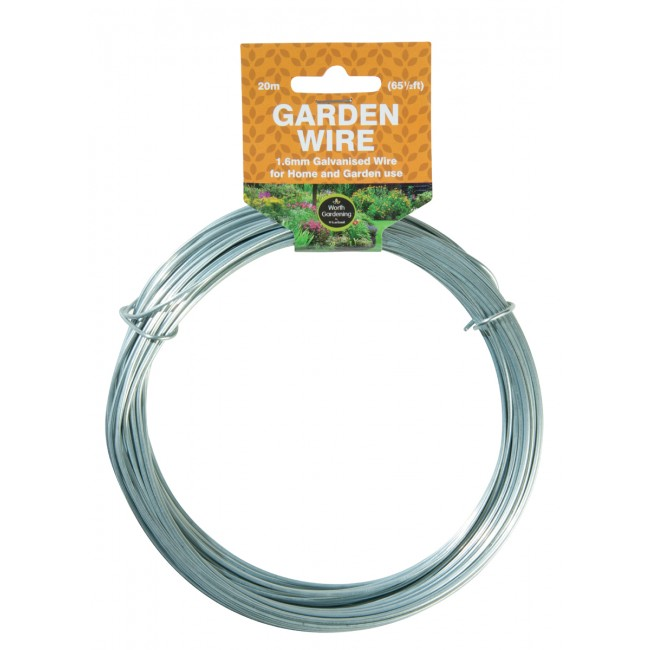 Garland 20m Garden Wire 1.6mm Galvanised