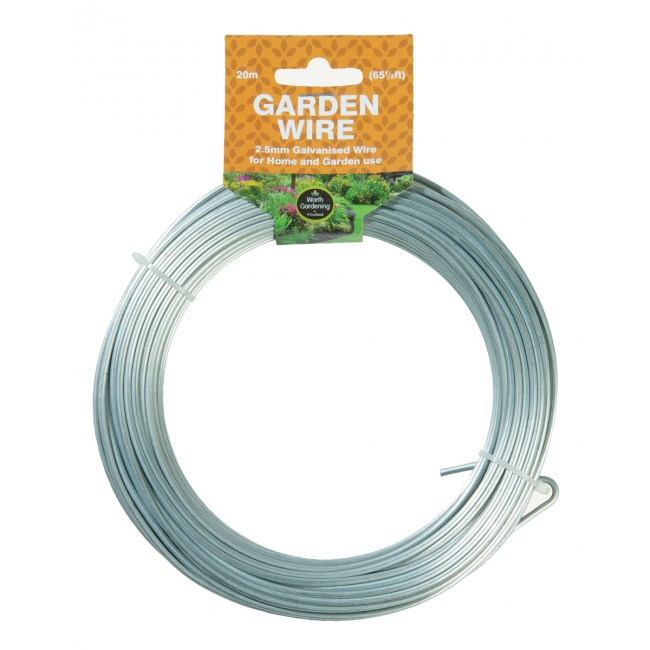 Garland 20m Garden Wire 2.5mm Galvanised