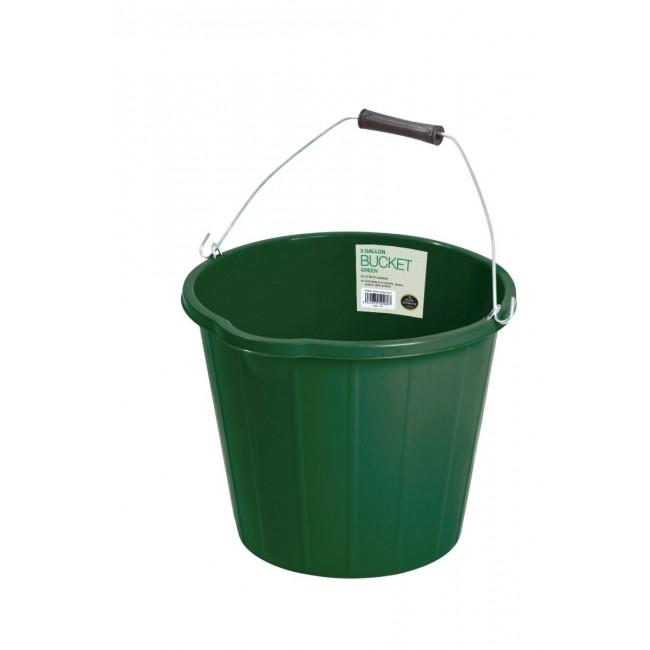 Garland 3 Gallon Bucket Green