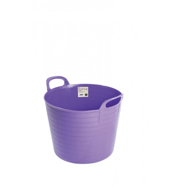 Garland 42Lt Flexi Tub Purple