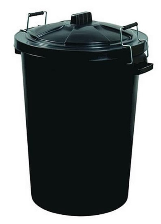 Garland 85Ltr Dust Bin With Clip Lid
