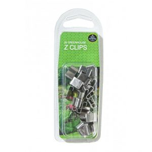 Garland Greenhouse Z Clips (25)