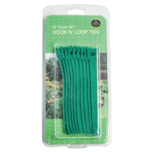 "Garland 15cm (6"") Hook N' Loop Ties (10)"