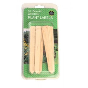 "Garland 15cm (6"") Wooden Plant Labels (10)"