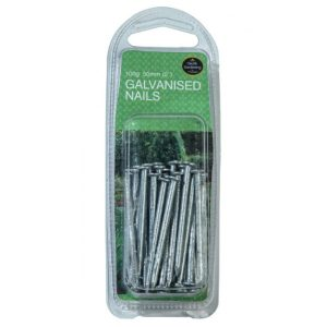 "Garland 50mm (2"") Galvanised Nails (100g)"