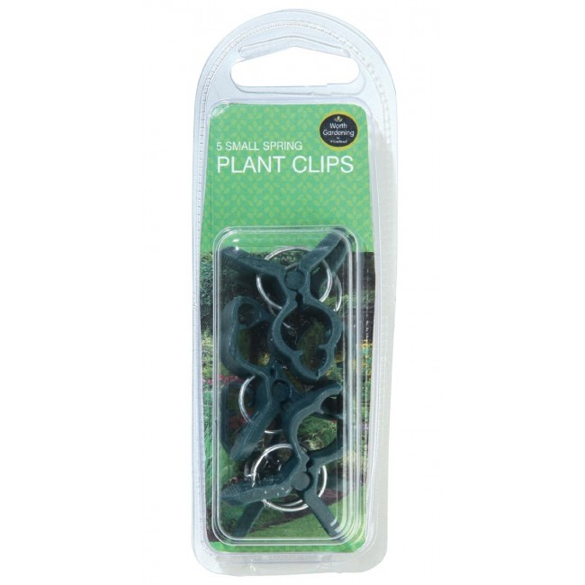 Garland Small Spring Plant Clips (5)