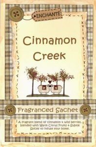 Enchante Cinnamon Creek Fragranced Sachet