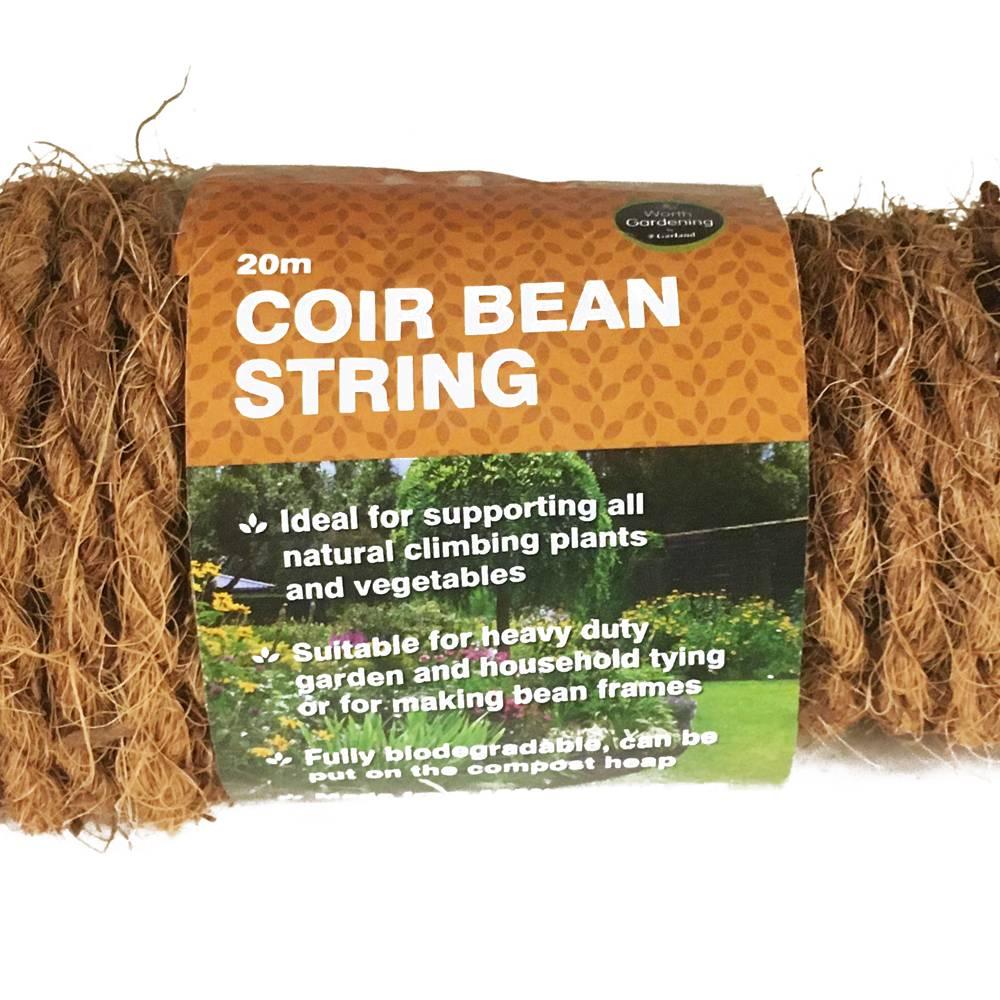 Garland 20m Coir Bean String