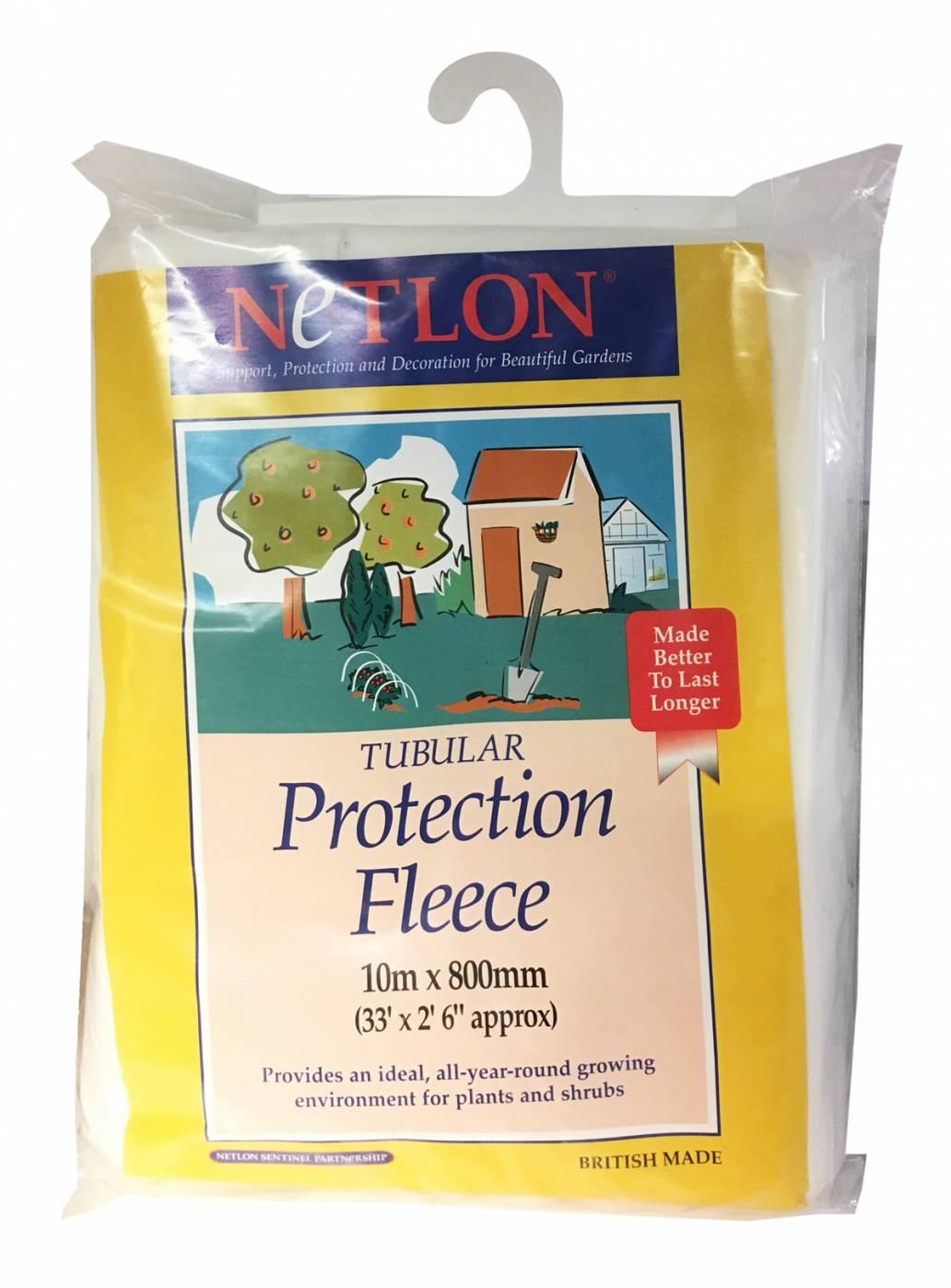 Netlon Tubular Plant Protection Fleece - 10m x 800mm