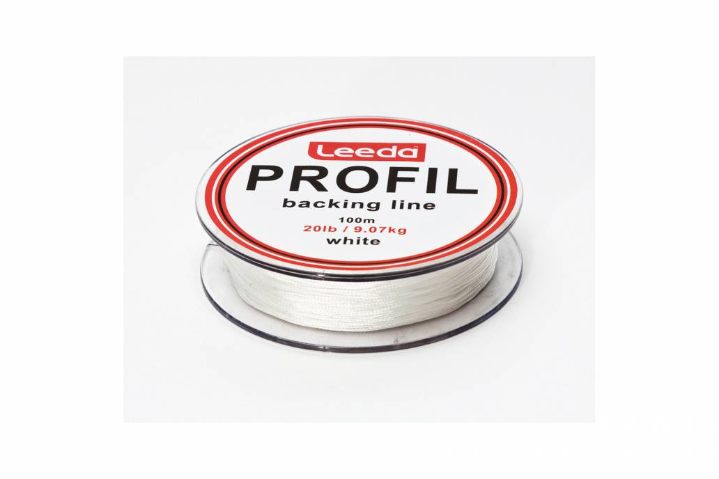 Leeda Profil Backing Line 20Lb White