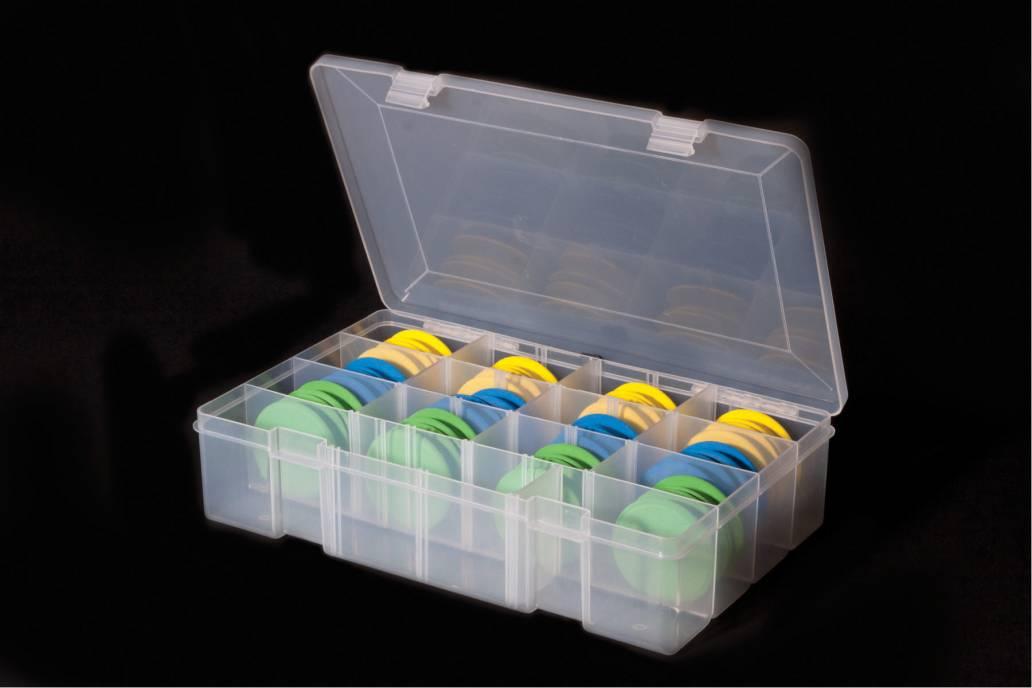 Leeda Rig Box  24 Foam Winders