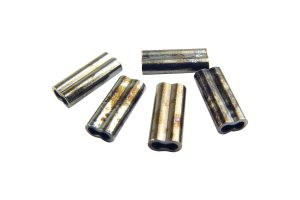 Brass Sleeve Crimp Dbl 1.3Mm