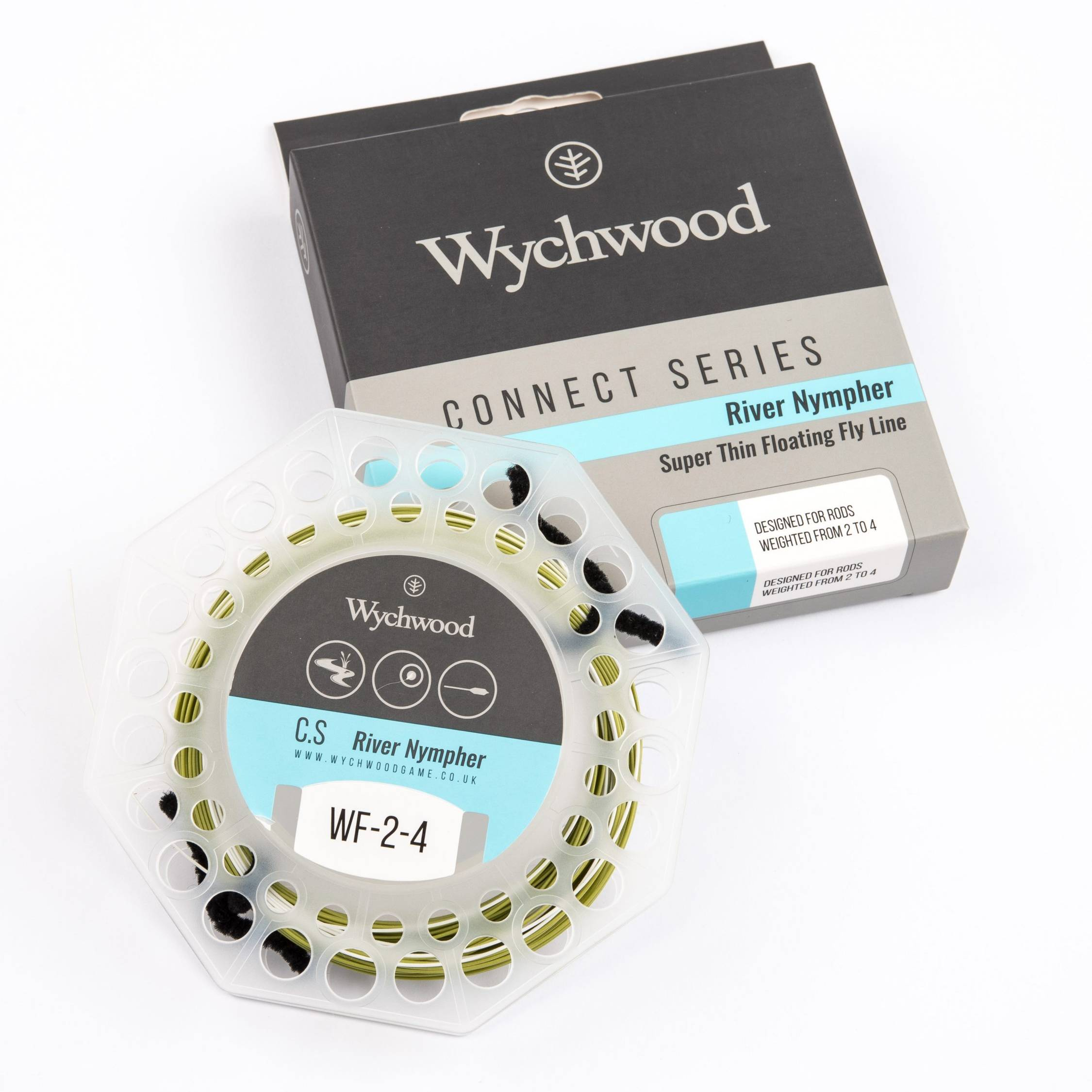 Connect Series River Nympher Fly Line 2-4
