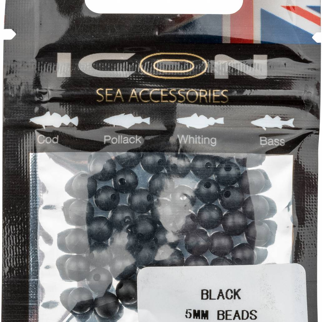 Black 5mm Bead