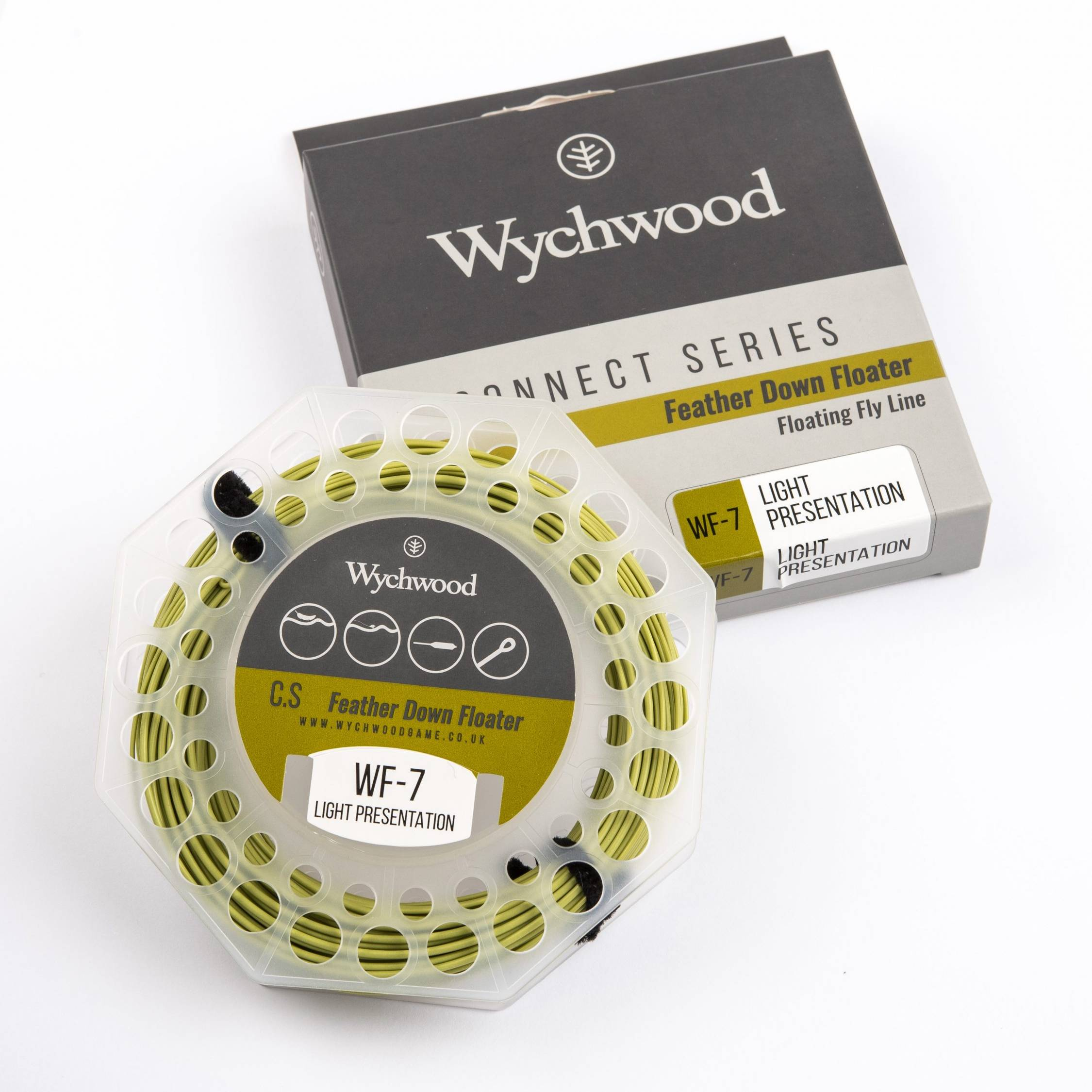 Feather Down Floater Fly Line WF7