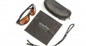 Nash Amber Wrap Sunglasses
