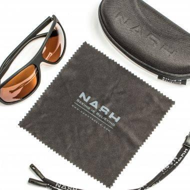 Nash Amber Wrap Sunglasses