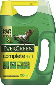 EverGreen Complete 4-in-1 Lawn Care Spreader