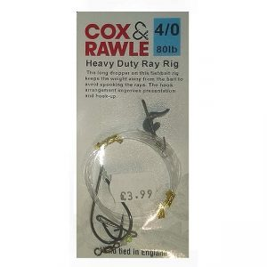 Cox And Rawle Heavy Duty Ray Rig Size 4/0