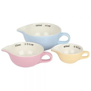 Mason Cash Bake My Day Set of 3 Measuring Cups