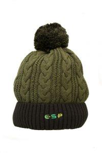 ESP Olive Bobble Hat