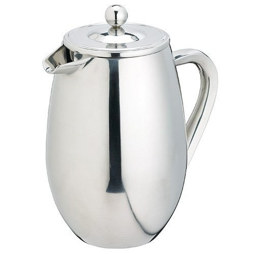 Le'Xpress S/S Double Wall Cafetiere 8 Cup - 1L