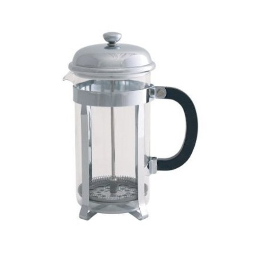 Le'Xpress 12 Cup Chrome Plated Cafetiere - 1.5L