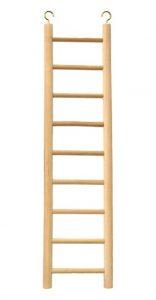 Beaks 9 Step Wooden Bird Cage Ladder