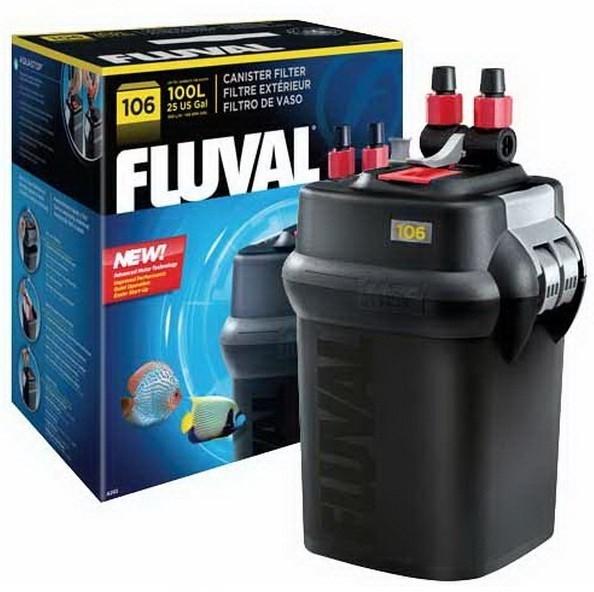 Fluval 106 External Power Aquarium Filter