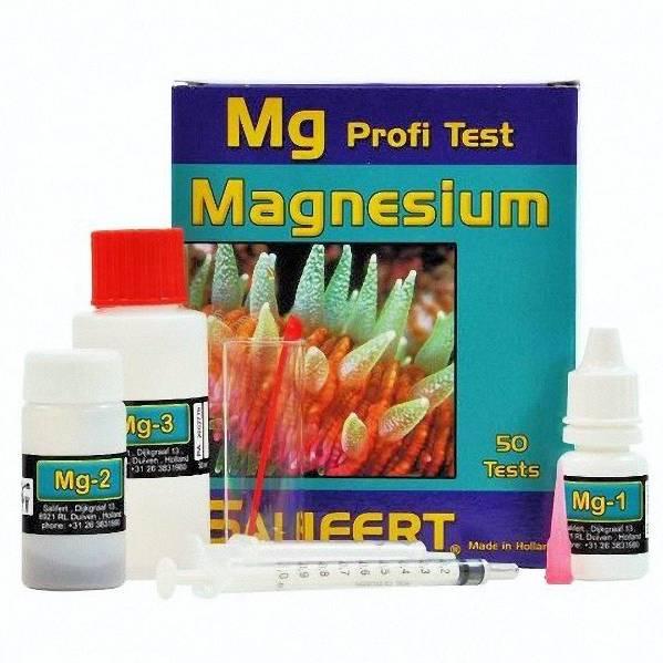 Salifert Profi Test - Mg Magnesium (Saltwater) 50 Tests