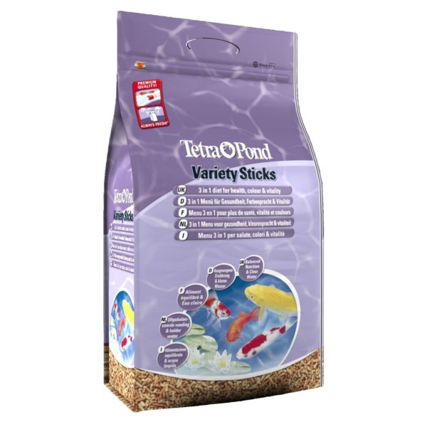 Tetra Pond Variety Sticks 25L 4100G