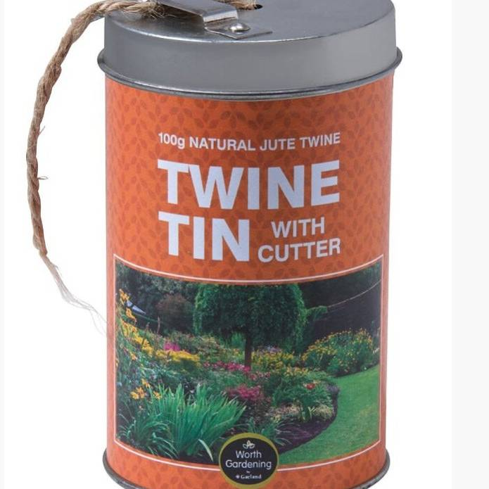 Garland Twine Tin With Cutter 100G