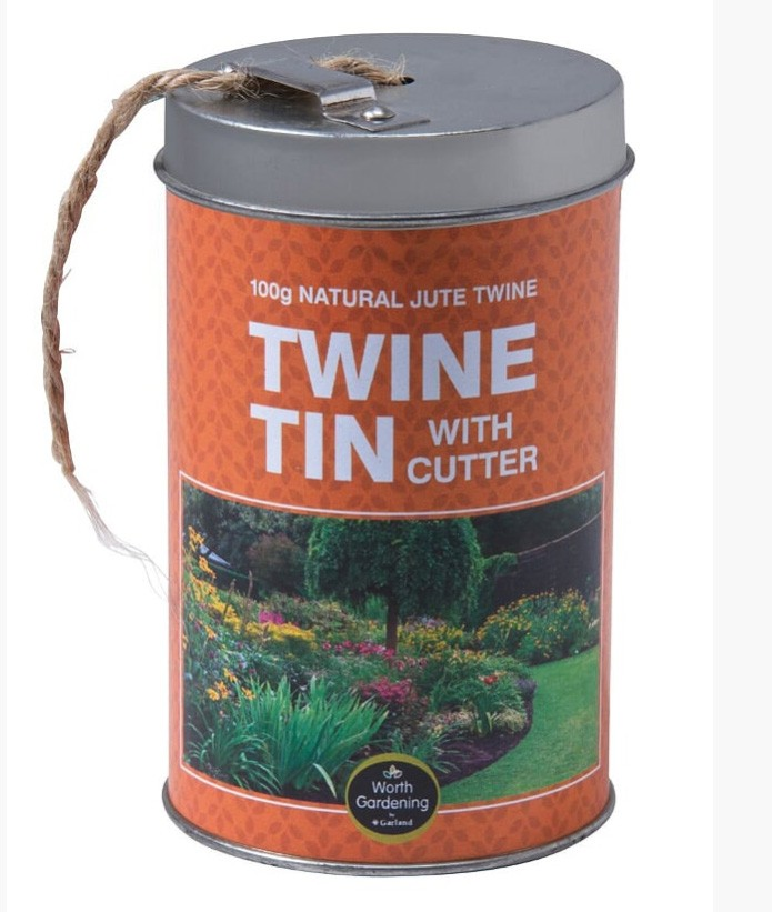 Garland Twine Tin With Cutter 100G