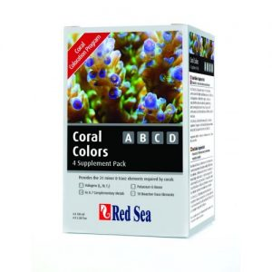 Red Sea Coral Colors 4 x 100ml Complete Set