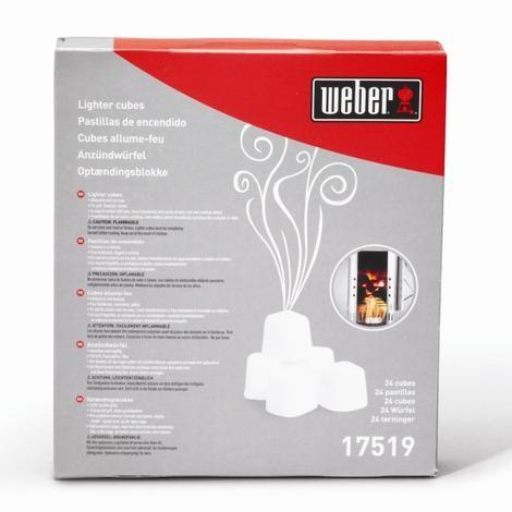 Weber Lighter Cubes x 24 17519